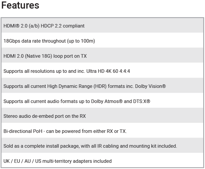 XTND4K100TPC2 (No ARC) features-959