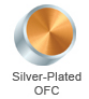 Silver-plated OFC Logo-207
