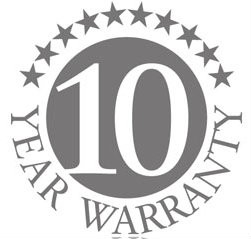 Amina 10-years-warranty